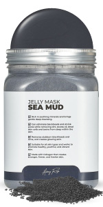 sea mud Avery Rose Peel-Off Jelly Mask Premium Modeling Rubber Mask Spa Set for face amp;amp; Vajacial