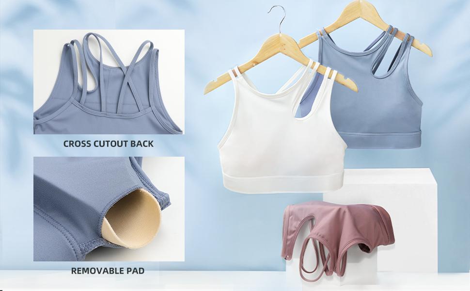 padded sports bra for women