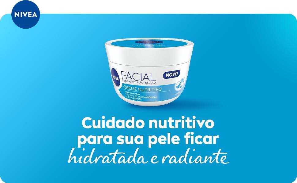 Cuidado nutritivo para sua pele ficar hidratada e radiante