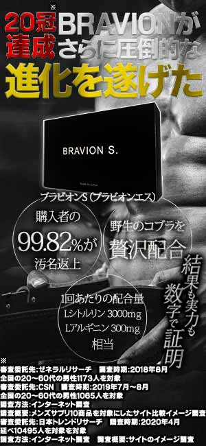 BRAVION S. ブラビオンエス ぶらびおんえす
