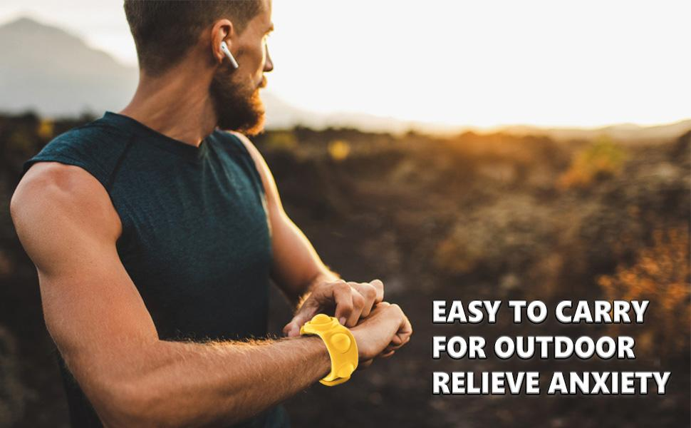 EASY TO CARRY  FOR OUTDOOR RELIEVE ANXIETY