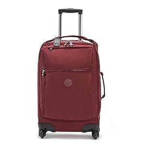 Kipling Darcey small carry on luggage