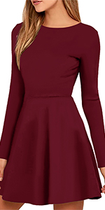Womens Elegant Mini Dress