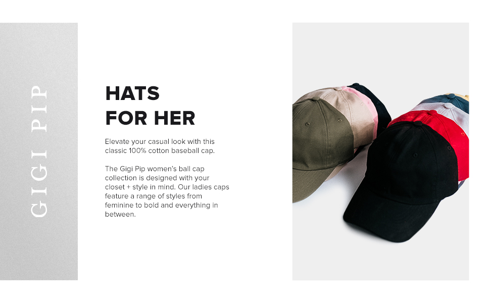 HATS FOR HER