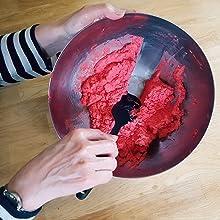 M22 small rubber spatula scraper spatula for baking
