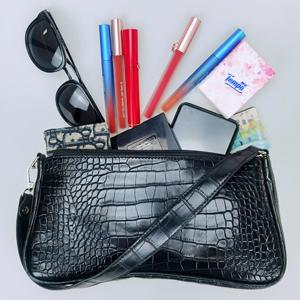 handbag;Crocodile leather bag