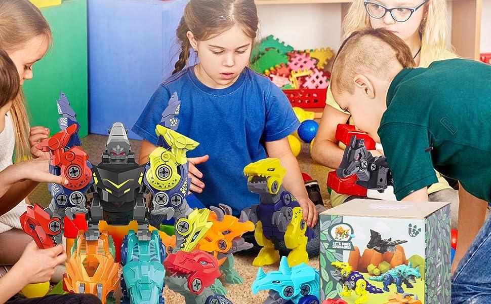 5 in1 dinosaur toy