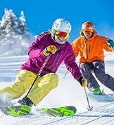 Toomett Men's Hiking Snow Pants Skiing Winter Insulated Fleece Lined Outdoor Water Repellent Camp...
