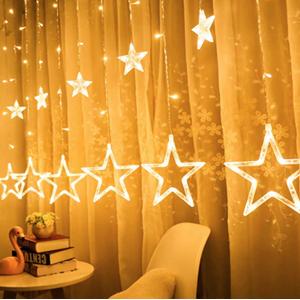 star light stars lights for bedroom night warm fairy string strip Waterproof Twinkle Plug room Lawn