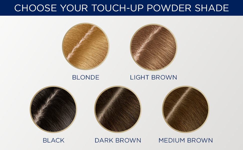 Root Touch Up Powder shade range