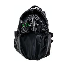 Ballista Bat pistol crossbow fits into a regular backpack
