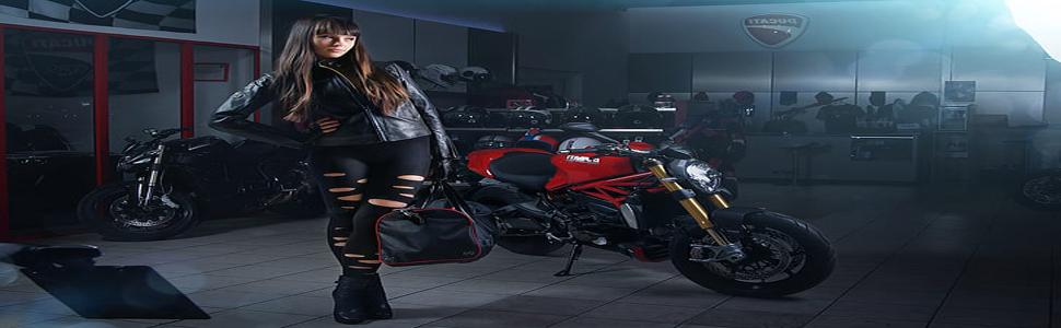 leather motorcycle super rider black men original biker protective summer armored jacket