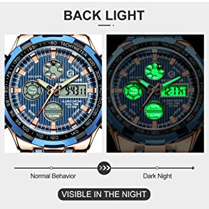 backlight watches men