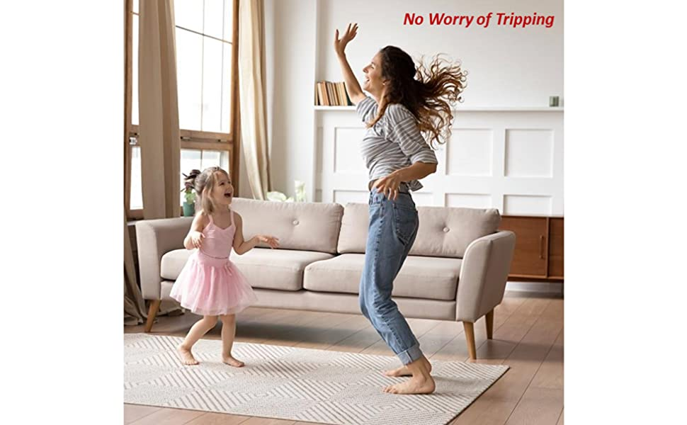 Anti-sliding Rug Stoppers No Worry of Tripping Safe for Your family
