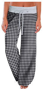 High Waist Pajama Pants