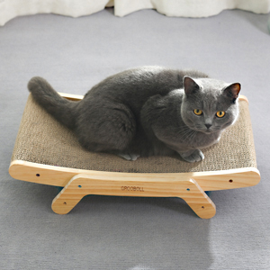 Cat bed shape display