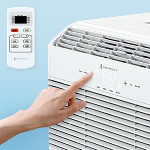 Window Air Conditioner with LED Digital Display