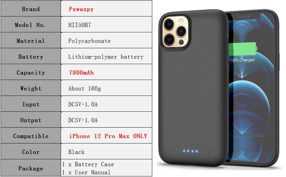 iPhone 12 pro max charger case