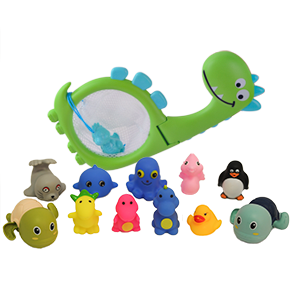 Inncen Baby Bath Toy Set-11Pcs Baby Interactive Bath Water-squirting Toy