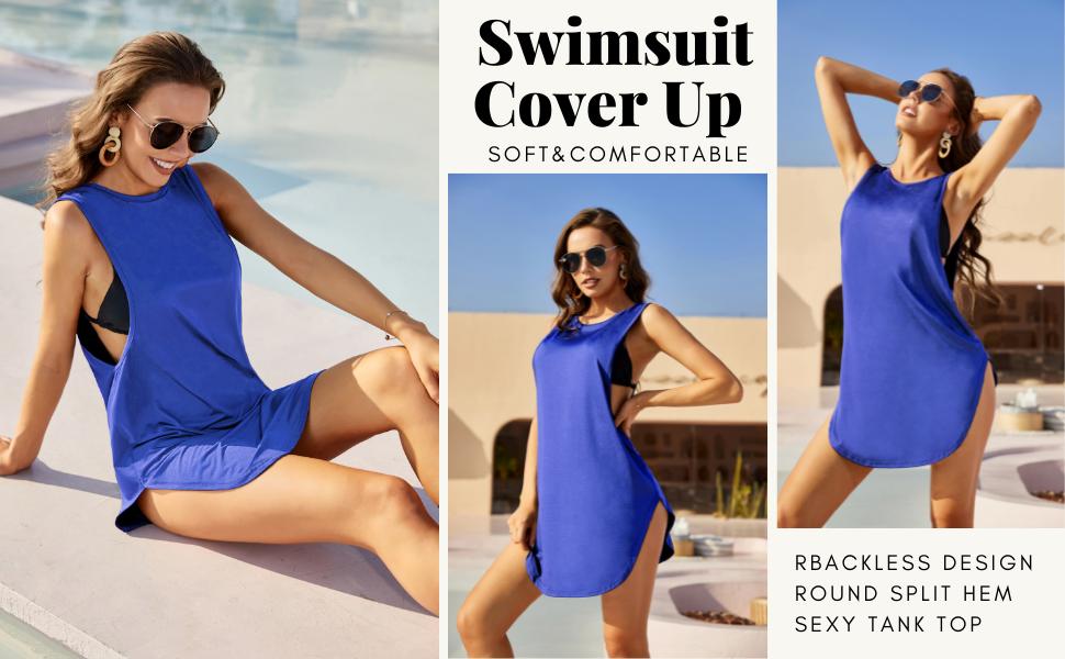 women Bathing Suit Cover