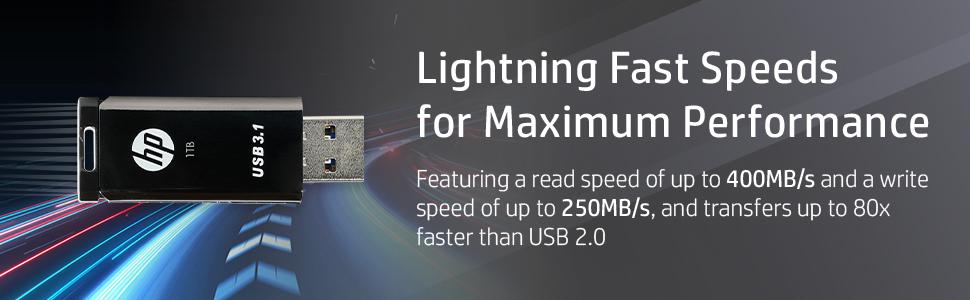 HP x770w Lightning Fast Speeds