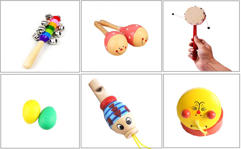 8PCS Toddler Musical Instrument