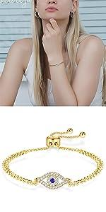 Evil Eye Bracelet for Women