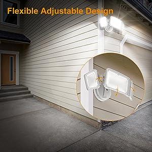 adjustable flood light