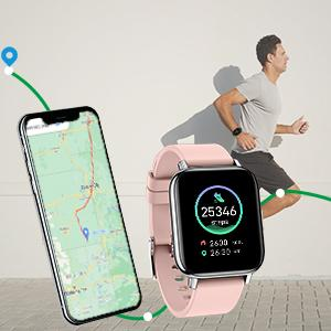 Rogbid Rowatch 2S Smart Watch fitness tracker fitness watch GPS Steps