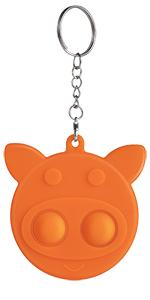 simpled dimple pig orange