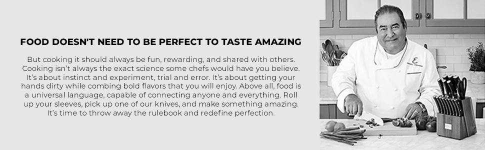 Food doesn't need to be perfect to taste amazing