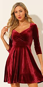B098WWCDT6 Velvet Dress