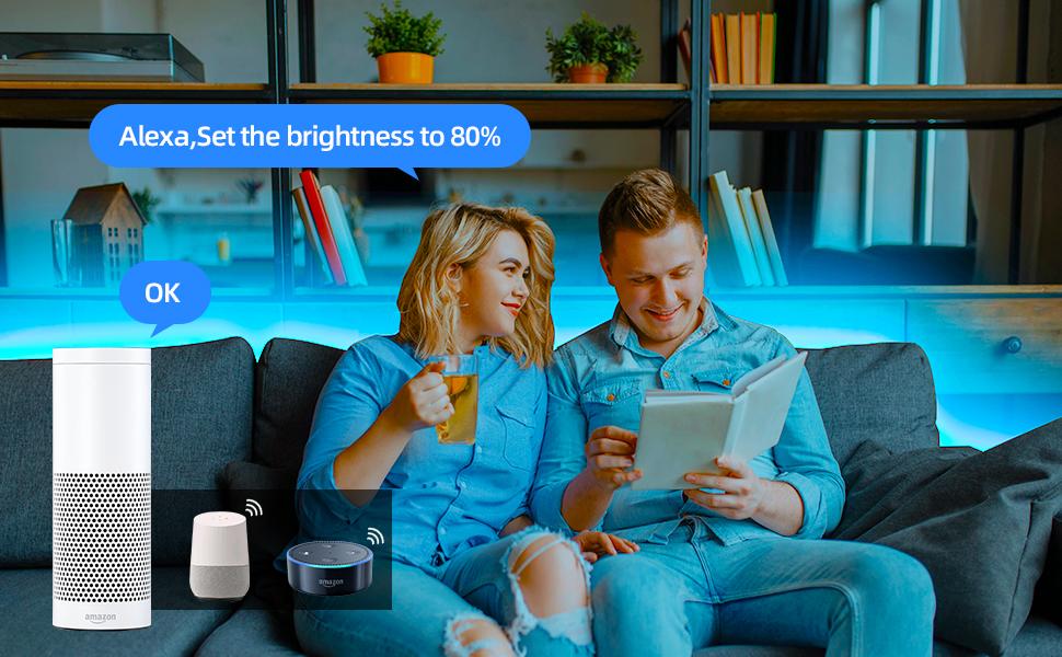 16.4ft WiFi LED Lights rgbw