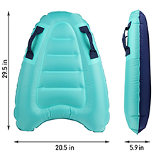 swimming board for kids 2 pack pool float with cup holder maui mat little inflatable boogie boards