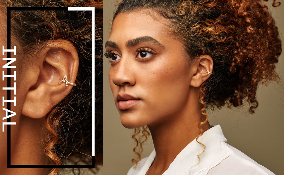 initial ear cuff
