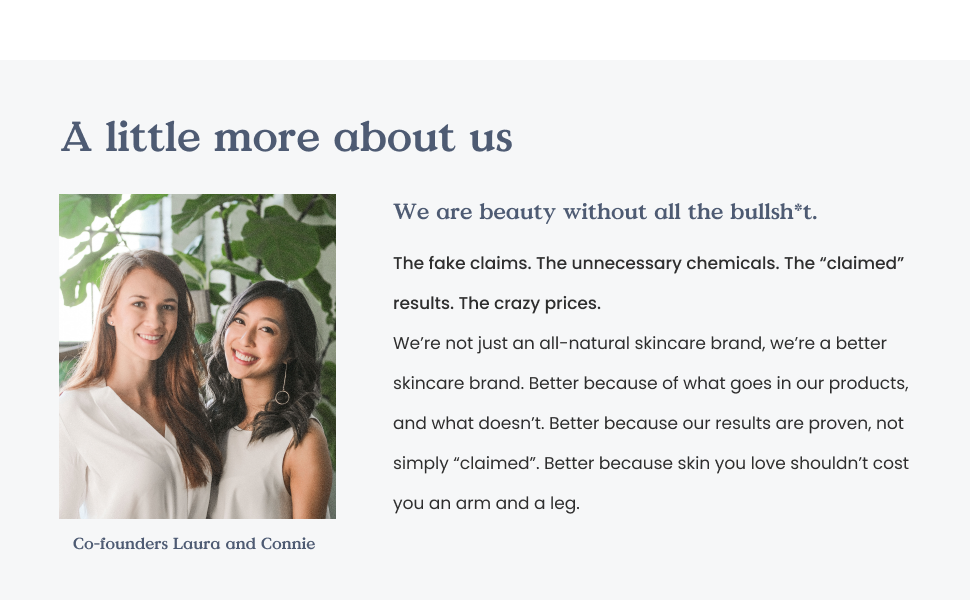 about us, co-founders, female-founded, canadian brand