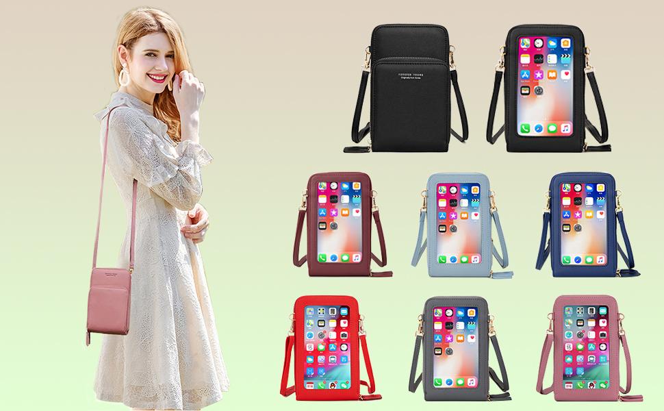 Crossbody Phone bag Shoulder bag Touchscreen