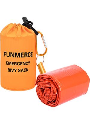 orange survival bivy sack