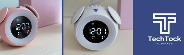 TechTock Alarm Clock Banner