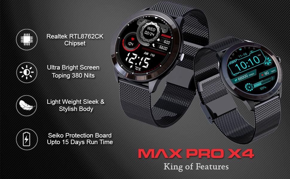 smartwatch   max pro x4   maxima watches
