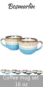 coffee mug set of 2