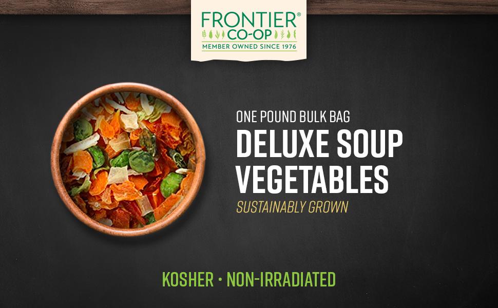 Frontier Co-op Soup Vegetables