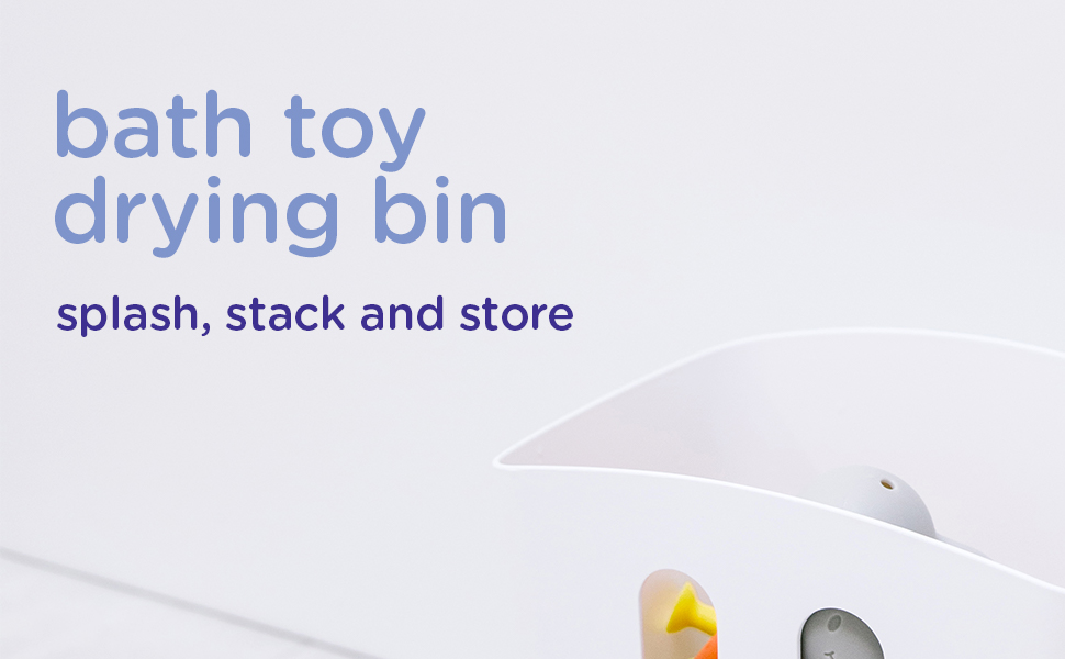 Bath gift set: splash, stack and store