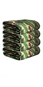 72x80 camo moving blankets