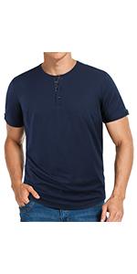 Front Placket T- shirt for men