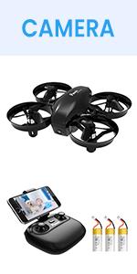 Potensic Mini Drone A20W , Negro