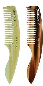 Giorgio G85 and Giorgio G79 Handmade Mustache Combs