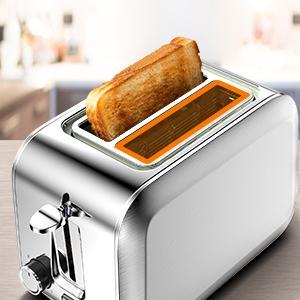 Toaster 2 Slice Stainless Steel