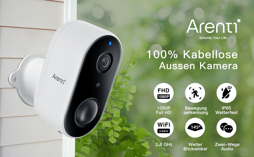 Arenti Wireless Outdoor Security Camera