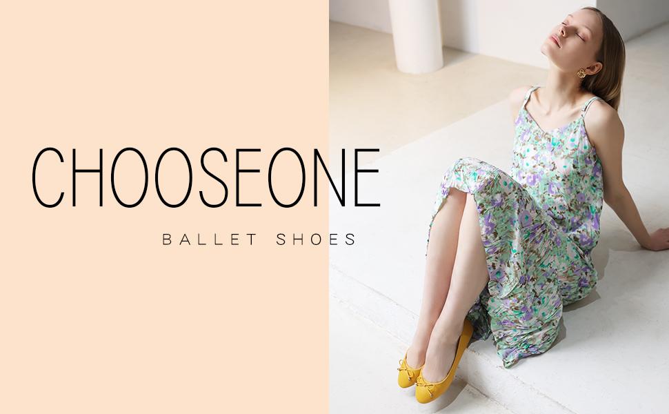 CHOOSEONE Women Ballet Flats
